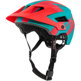 O'Neal Defender 2.0 Casque, sliver teal/red